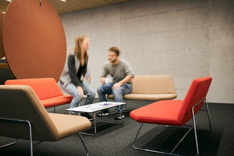 Lounge im Begegnungsraum